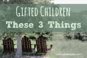 Gifted intimidating words
