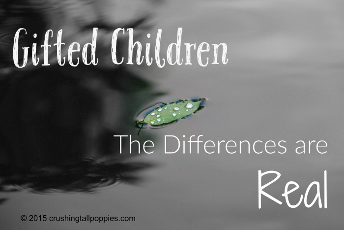 Gifted Children The Differences are Real
