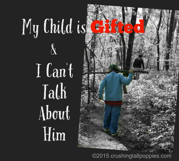 My Child is Gifted and I Can't Talk About Him