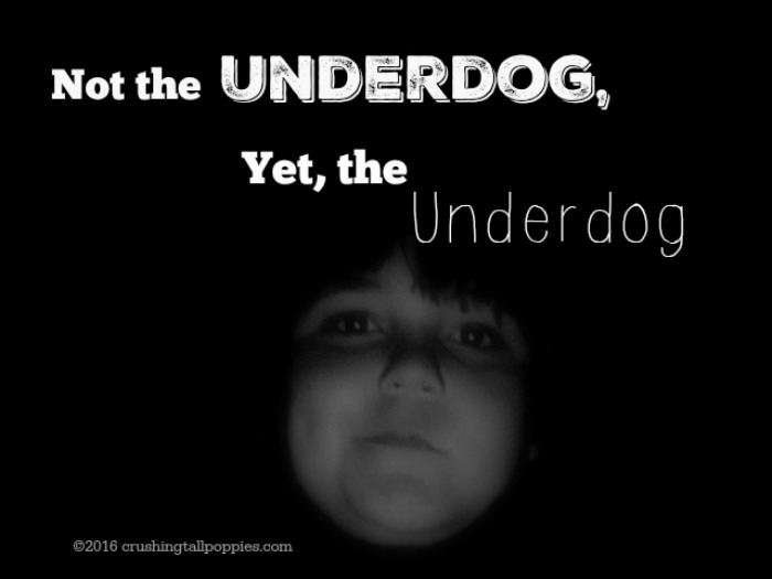 Not the Underdog, Yet, the Underdog