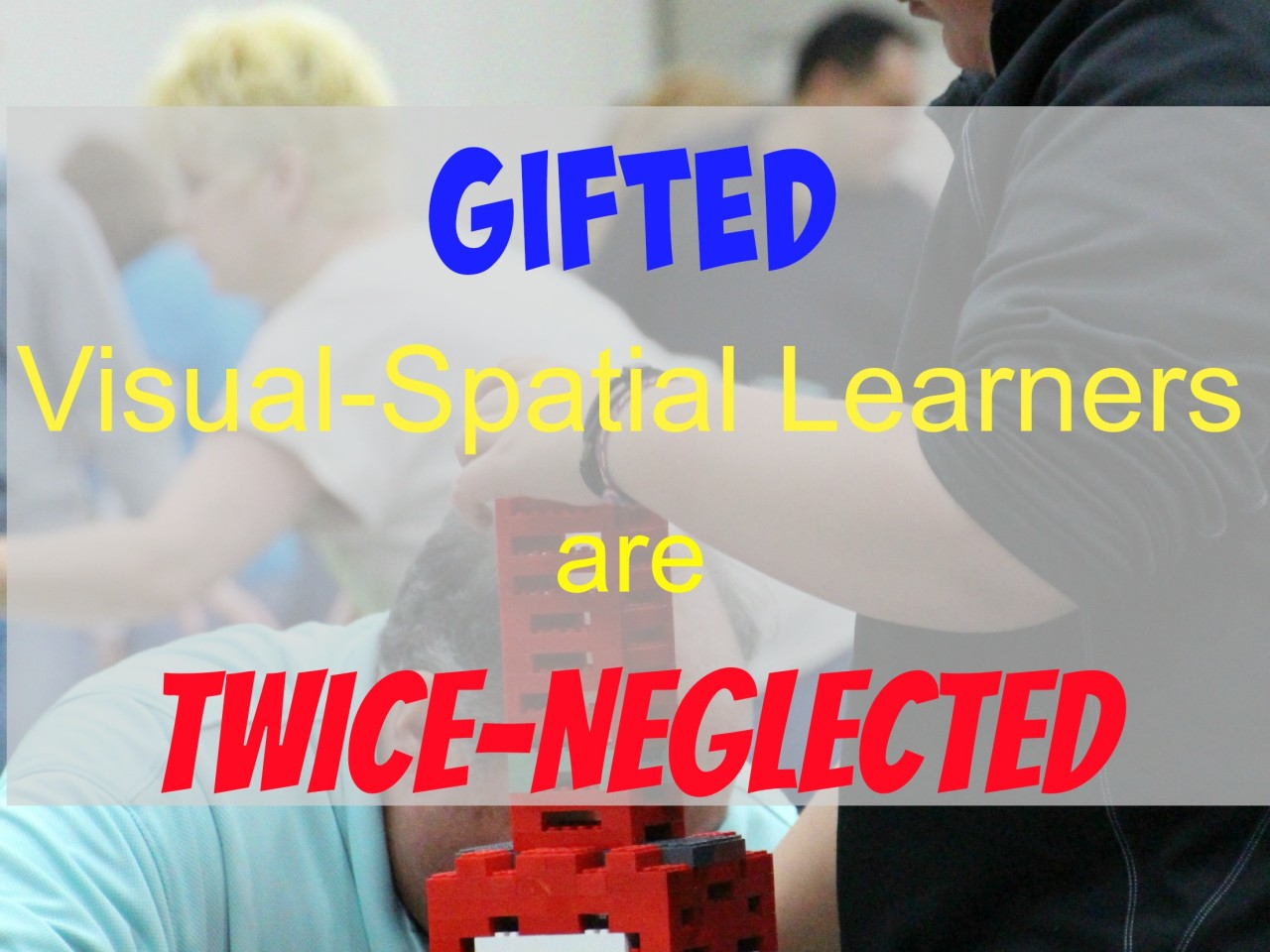 Gifted Visual-Spatial Learners are Twice-Neglected | Crushing Tall Poppies