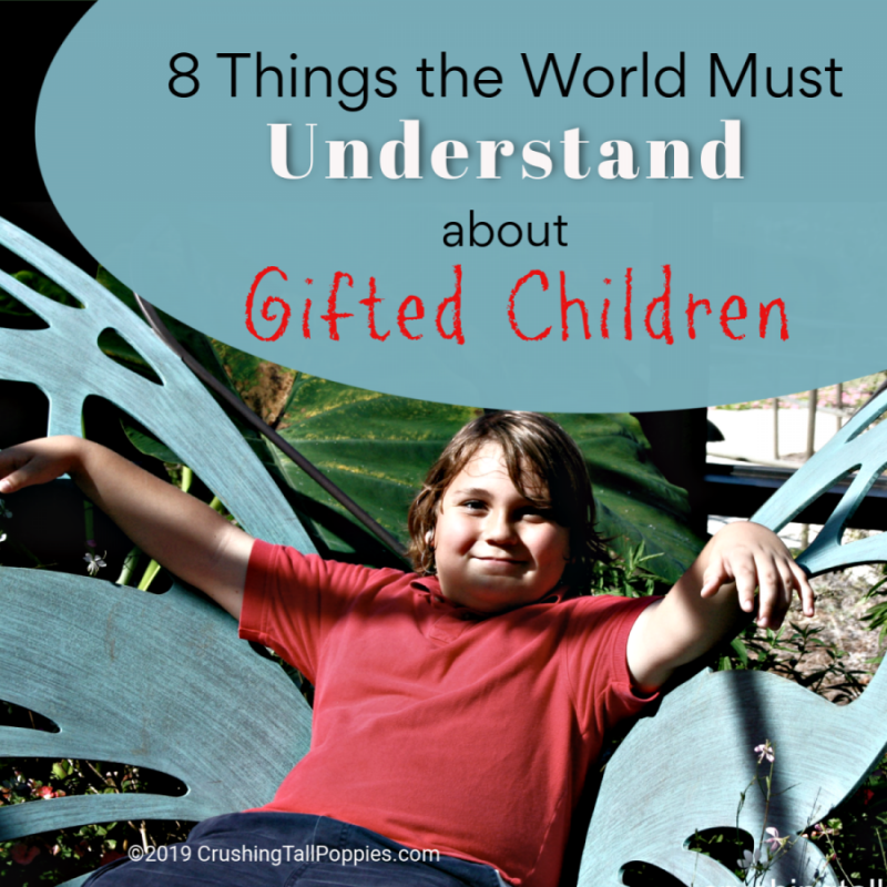 8 Things the World Must Understand About Gifted Children | Crushing