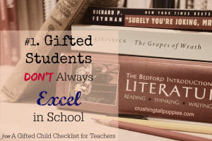 Want To Make Gifted Education More >> 1 Gifted Students Do Not Always Excel In School Crushing Tall Poppies